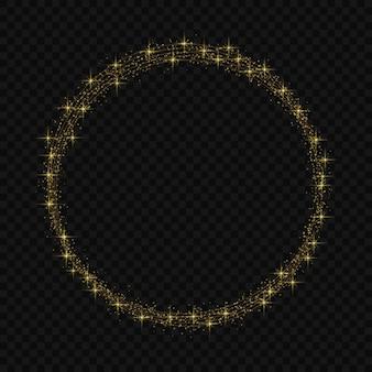 Rama koła z efektem świetlnym magic light