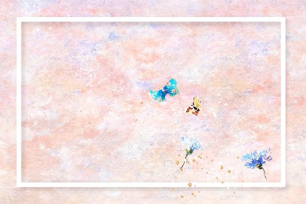 Rama na pastelowej ramie do malowania