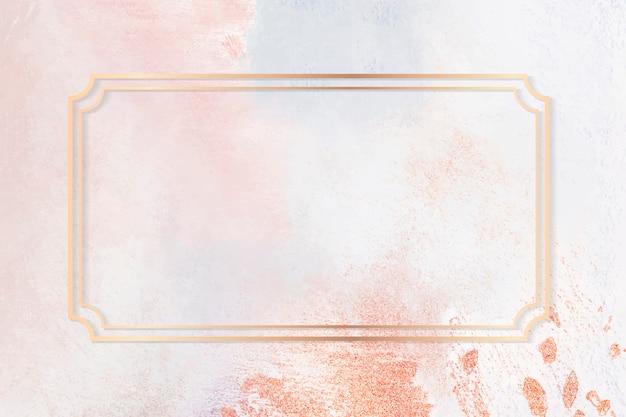Rama na pastelowej ramie