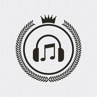 Rama styl hipster ikona na białym tle