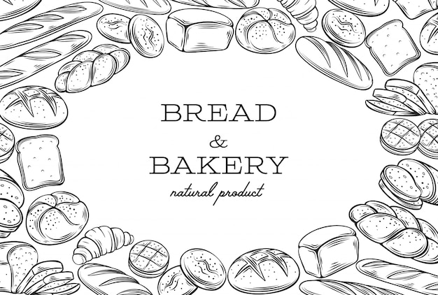 Rama szablonu chleba