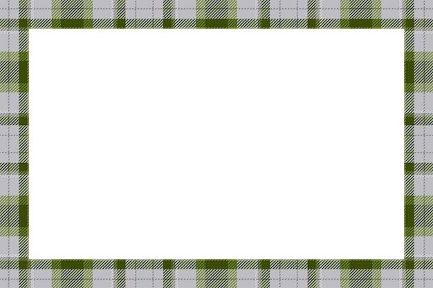Rama. szkocki wzór granicy retro s