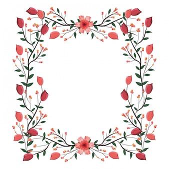 Rama układ róż