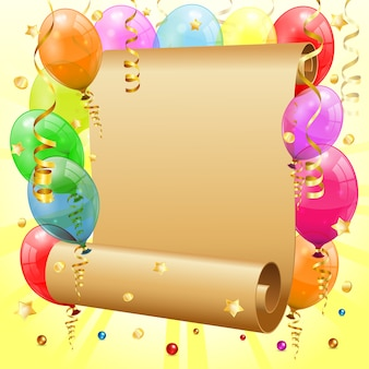 Rama urodzinowa