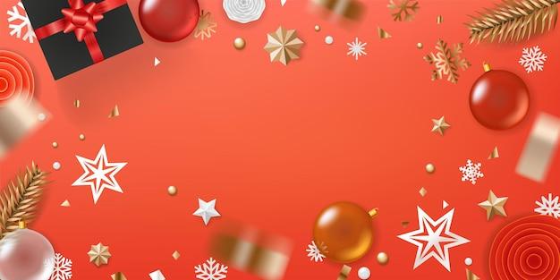 Rama z pozdrowieniami świątecznymi