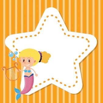 Rama z syreną i gwiazdą