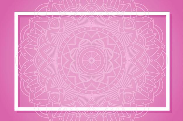 Rama z wzorami mandali