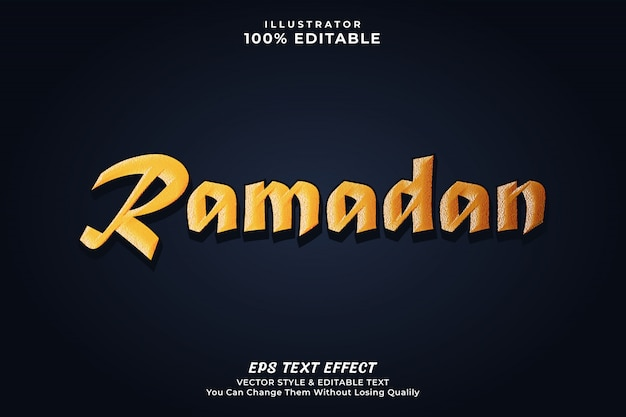 Ramadan islamski efekt tekstowy
