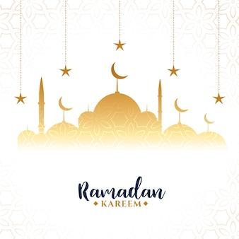 Ramadan kareem arabskie powitanie festiwalu