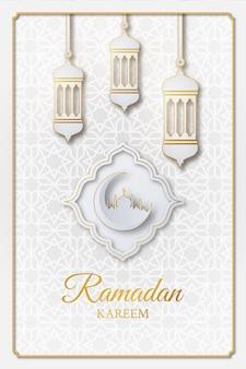 Ramadan kareem islamska ilustracja projekt