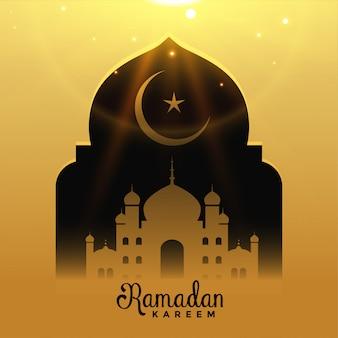 Ramadan kareem tło