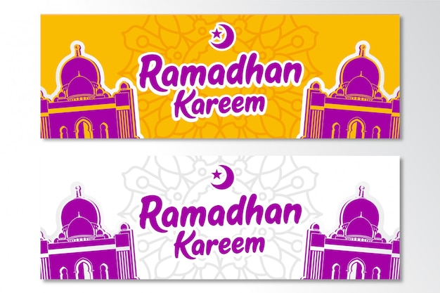 Ramadhan kareem banner