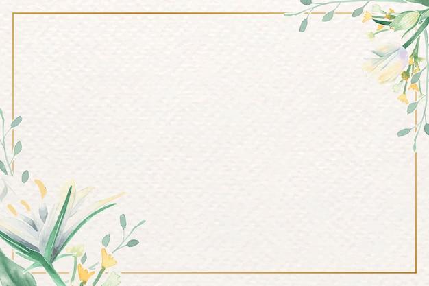 Ramka bloom akwarela