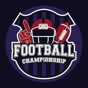 Ramka do futbolu amerykańskiego