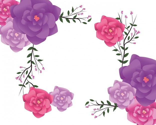Ramka kwiatowa