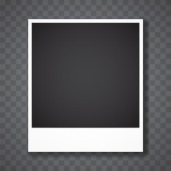 Ramka na zdjęcia z przezroczystym tłem
