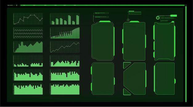 Ramka ostrzegawcza. abstract tech design niebiesko-czerwona futurystyczna ramka w nowoczesnym stylu hud.