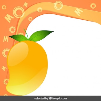 Ramka z mango