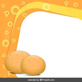 Ramka z ziemniakami