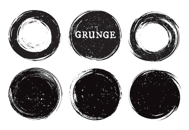 Ramki koło grunge