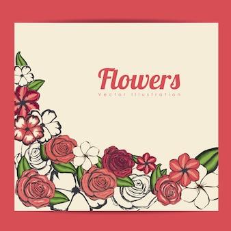 Ramki kwiatów