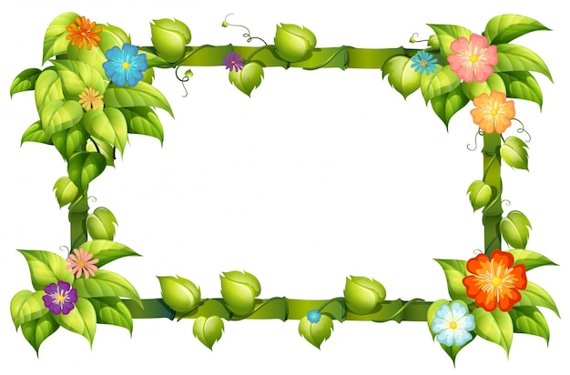 Ramki kwiatowe