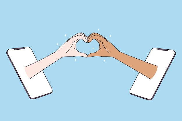Randki w internecie i wielorasowej koncepcji miłości