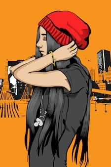 Rap dziewczyna