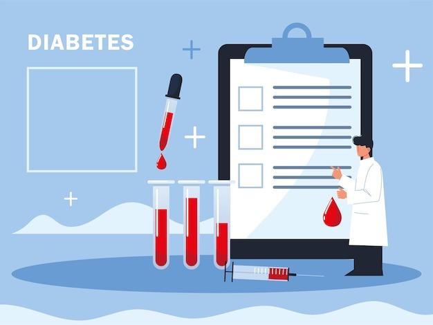 Raport lekarza diabetologa