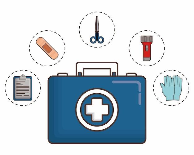 Raport medyczny z elementami pierwszej pomocy