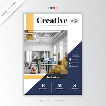 Raport roczny corporate, creative design