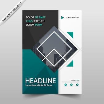 Raport roczny green square broszura ulotki