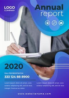Raport roczny szablon biznesowy