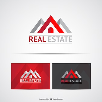 Real state logo szablony