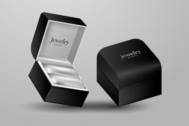 Realistyczna aranżacja biżuterii 3d