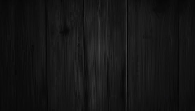 Realistyczna ciemnobrązowa drewniana ściana