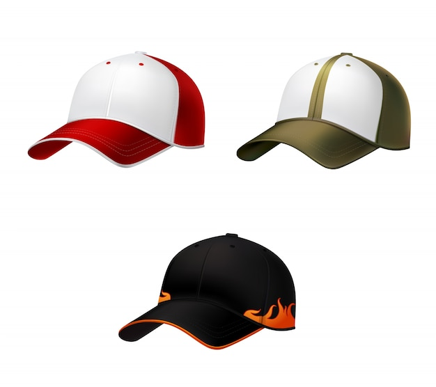 Realistyczna czapka baseballowa
