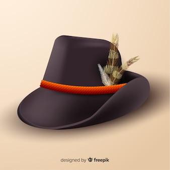 Realistyczna czapka oktoberfest