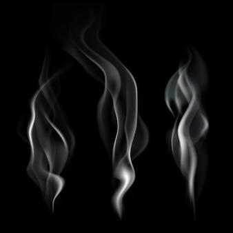 Realistyczna ilustracja dymu