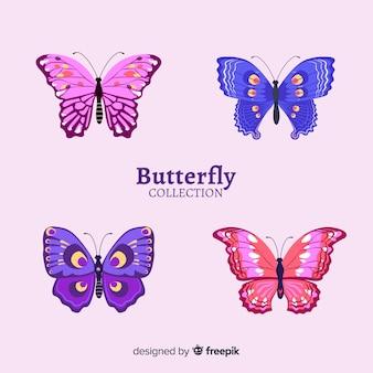 Realistyczna kolekcja motyli