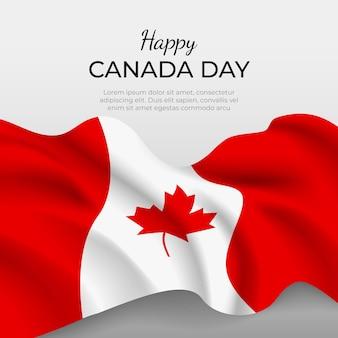 Realistyczna koncepcja dnia kanady