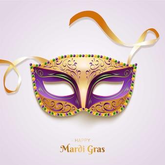 Realistyczna koncepcja mardi gras