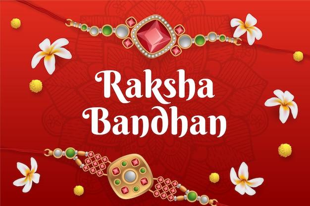 Realistyczna koncepcja raksha bandhan