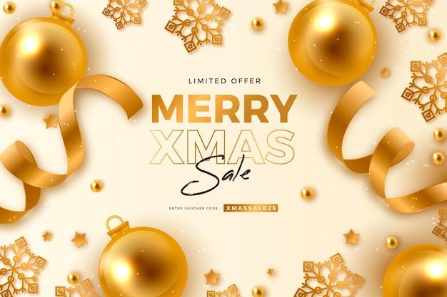 Realistyczna koncepcja sprzedaży świątecznej