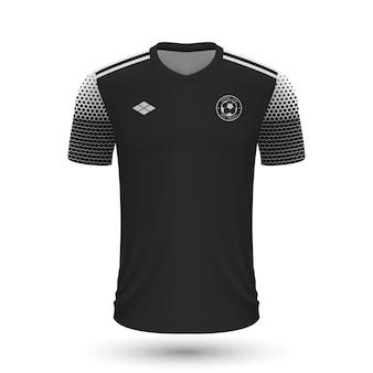 Realistyczna koszulka piłkarska sheriff 2022, szablon koszulki dla piłki nożnej