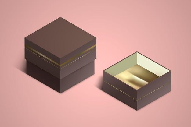 Realistyczna makieta biżuterii 3d