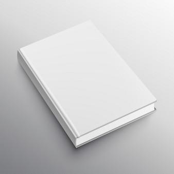 Realistyczna makieta szablon książki