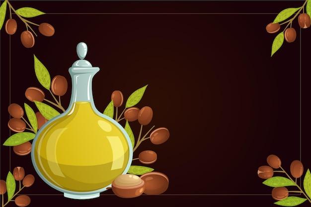 Realistyczna promocja oleju arganowego