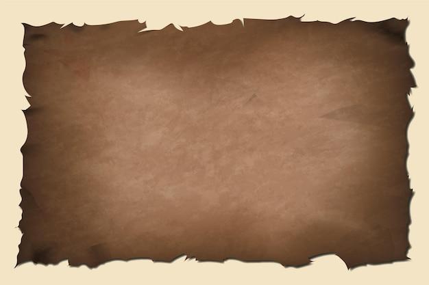 Realistyczna stara tekstura papieru z pustą przestrzenią