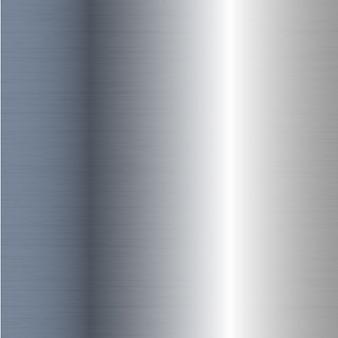 Realistyczna tekstura srebrnej folii